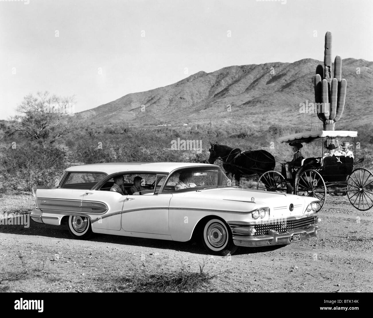Station Wagon 1958 Buick Caballero
