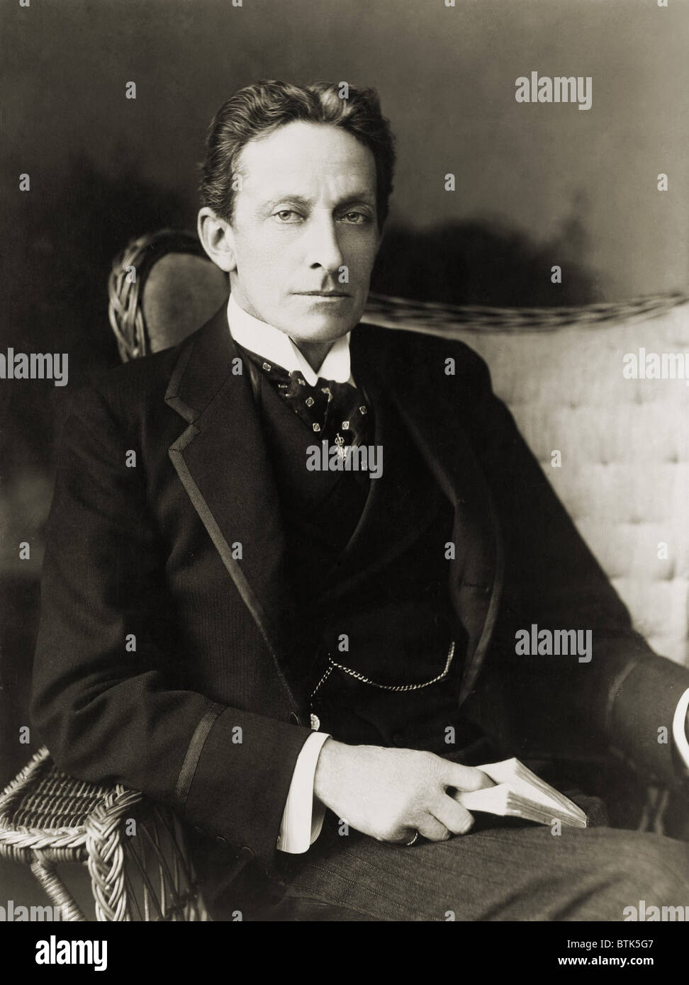 Sir Johnston Forbes-Robertson (1853-1937), English actor best known for his masterful performance of Shakespeare's - Stock Image