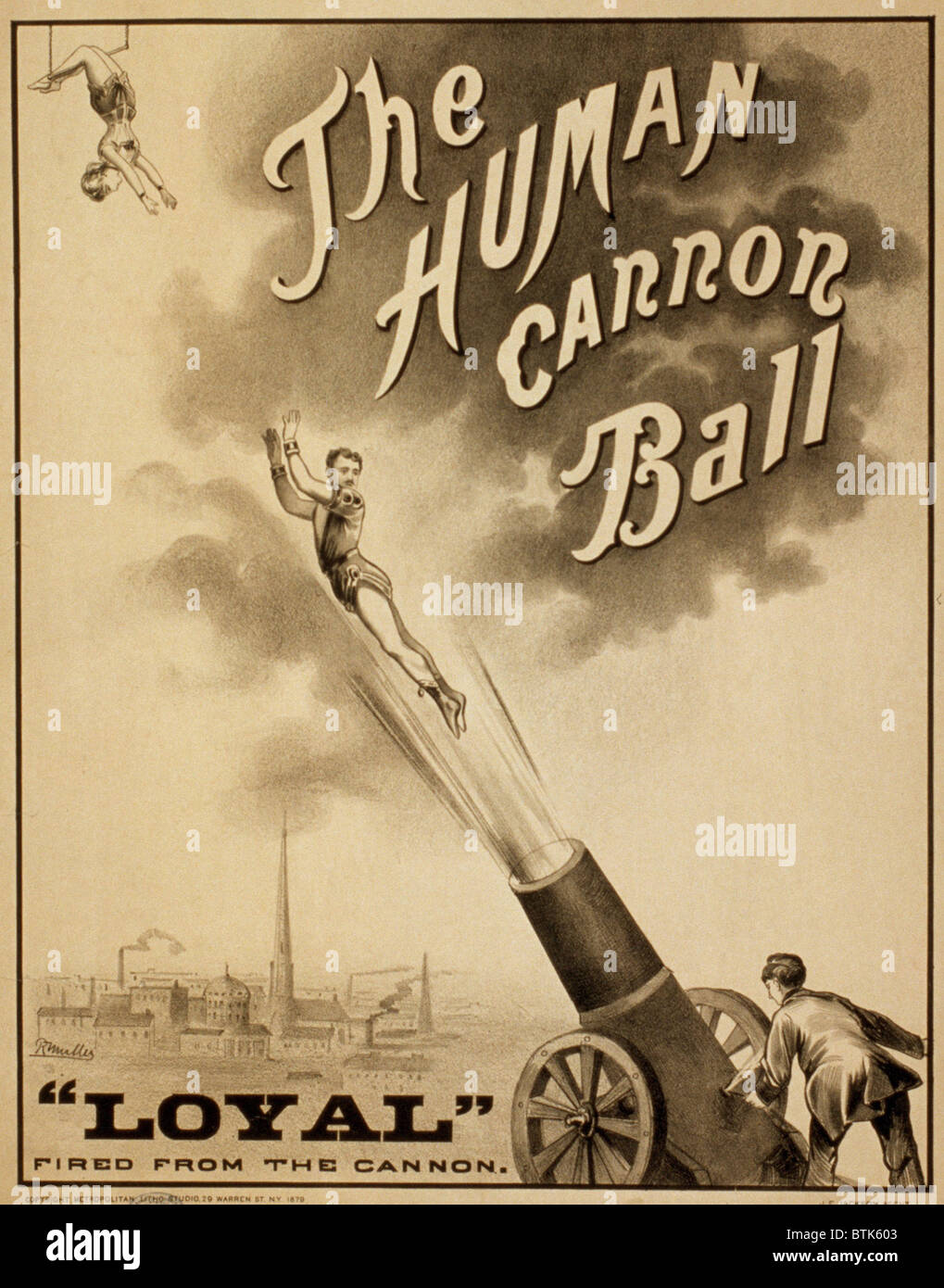 I Am A Human Cannonball: A Brief History Of Circus Bullets ... |Human Cannonball Circus Poster