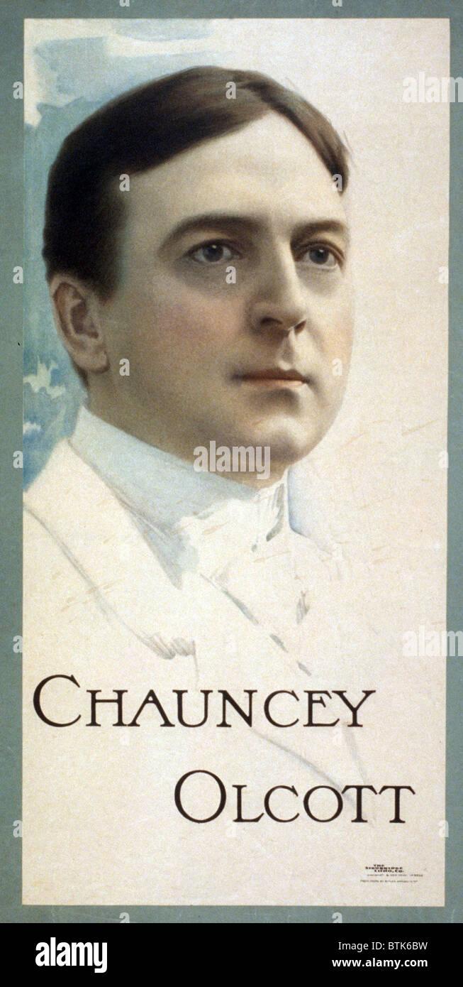 Chauncey Olcott (1858-1932) wrote both the words and music to My Wild Irish Rose. His biopic, MY WILD IRISH ROSE, - Stock Image
