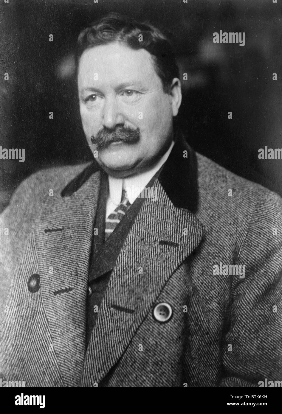 William 'Billy' Burns (1861-1932), was a corrupt Director of the Bureau of Investigation during the Harding - Stock Image