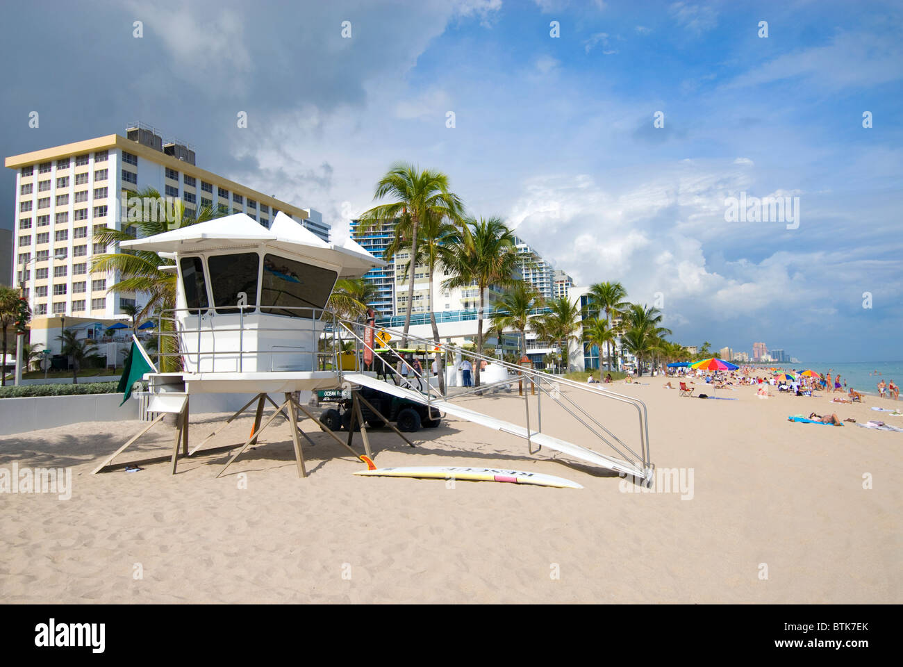 Fort Lauderdale beach Florida USA Stock Photo