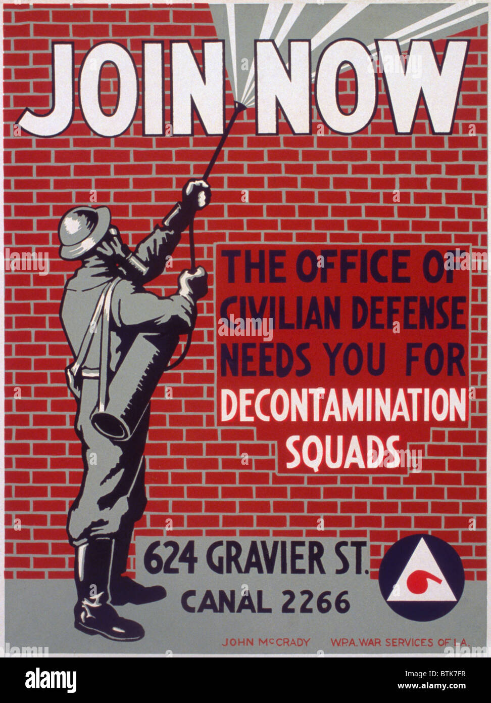 the office poster. \u0027Join Now The Office Of Civilian Defense Needs You For Decontamination Squads\u0027 Color Poster, 1941 Poster