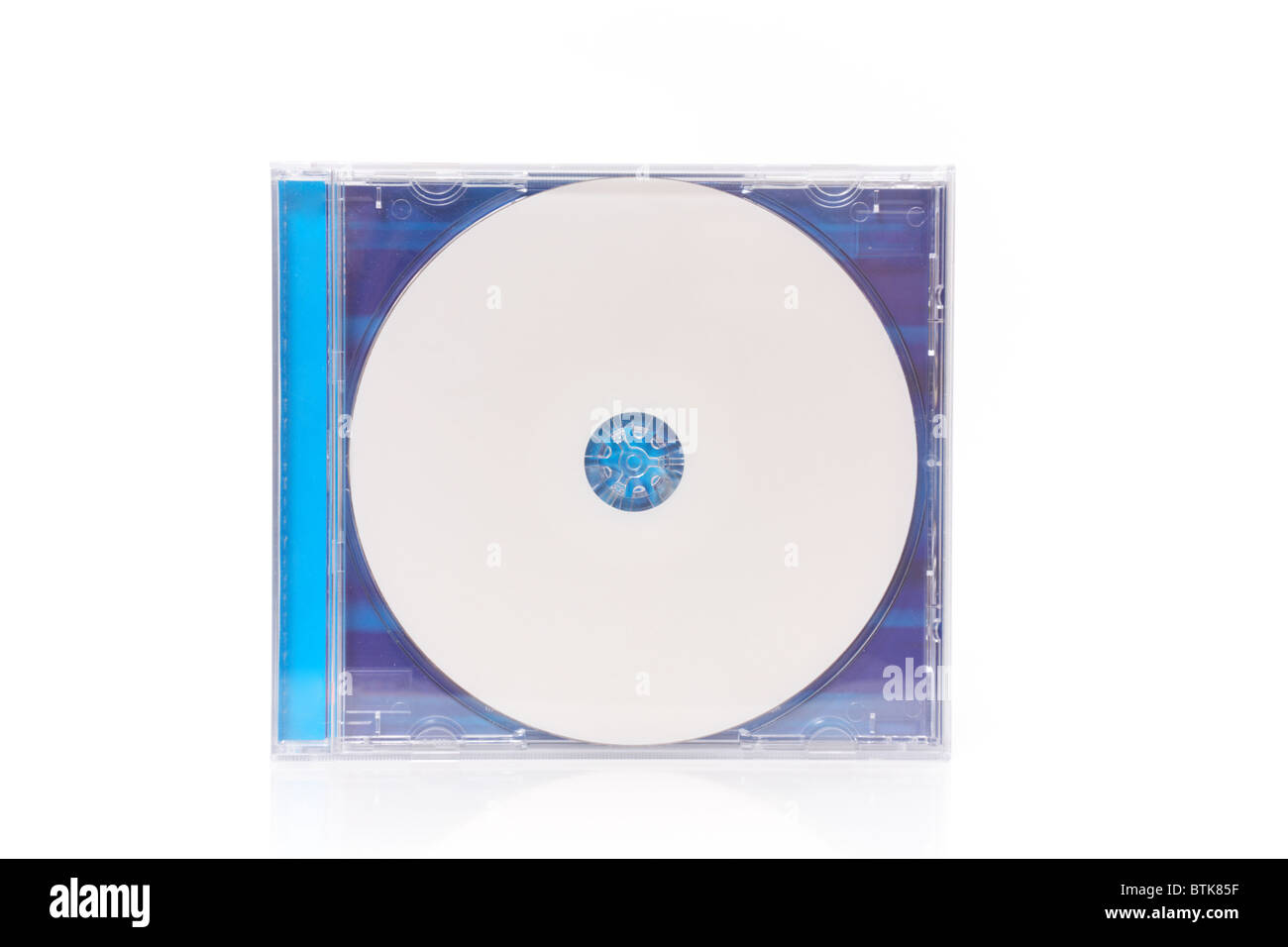 compact disc in box - Stock Image