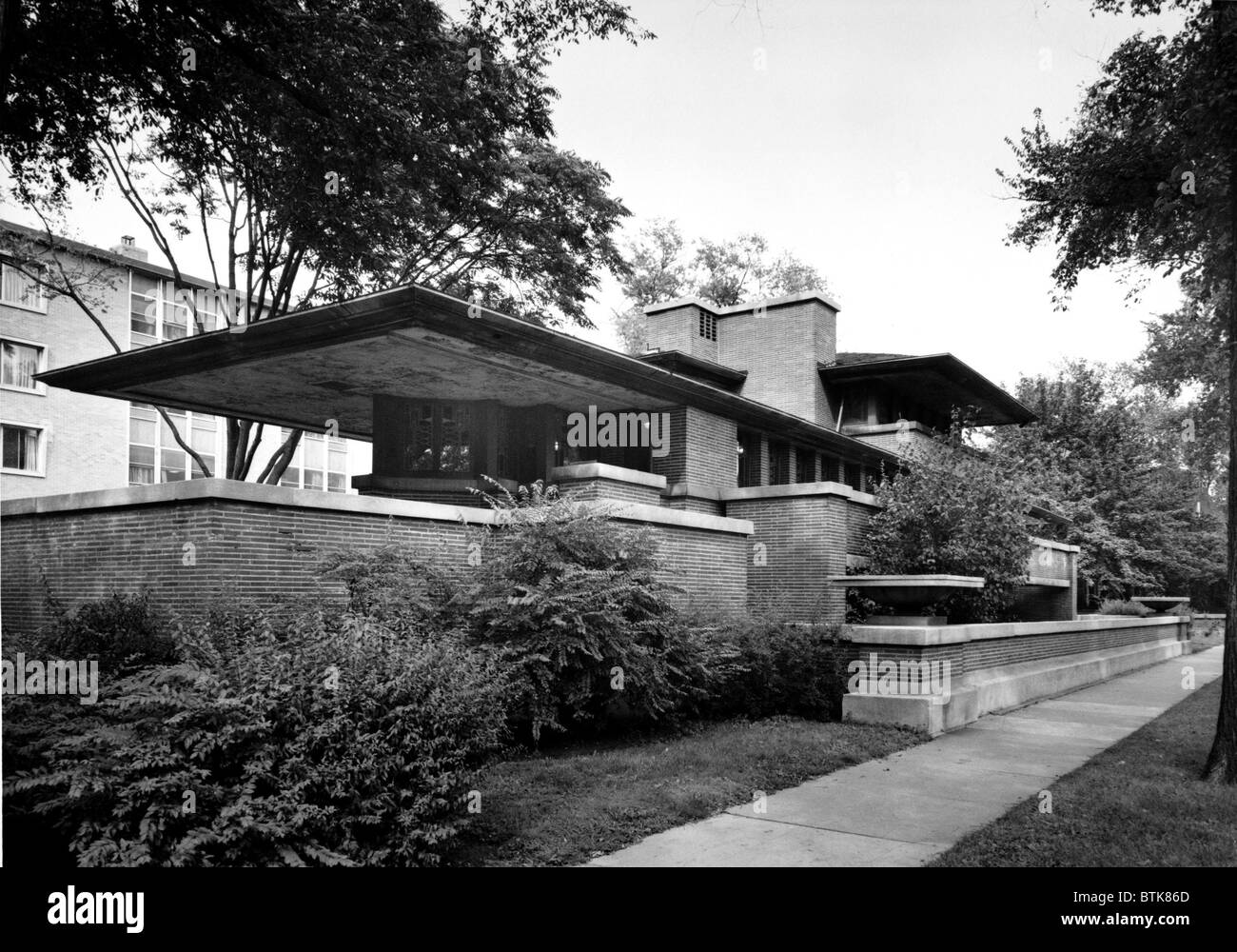 Frank Lloyd Wright Used Structural Steel Framing To Support The