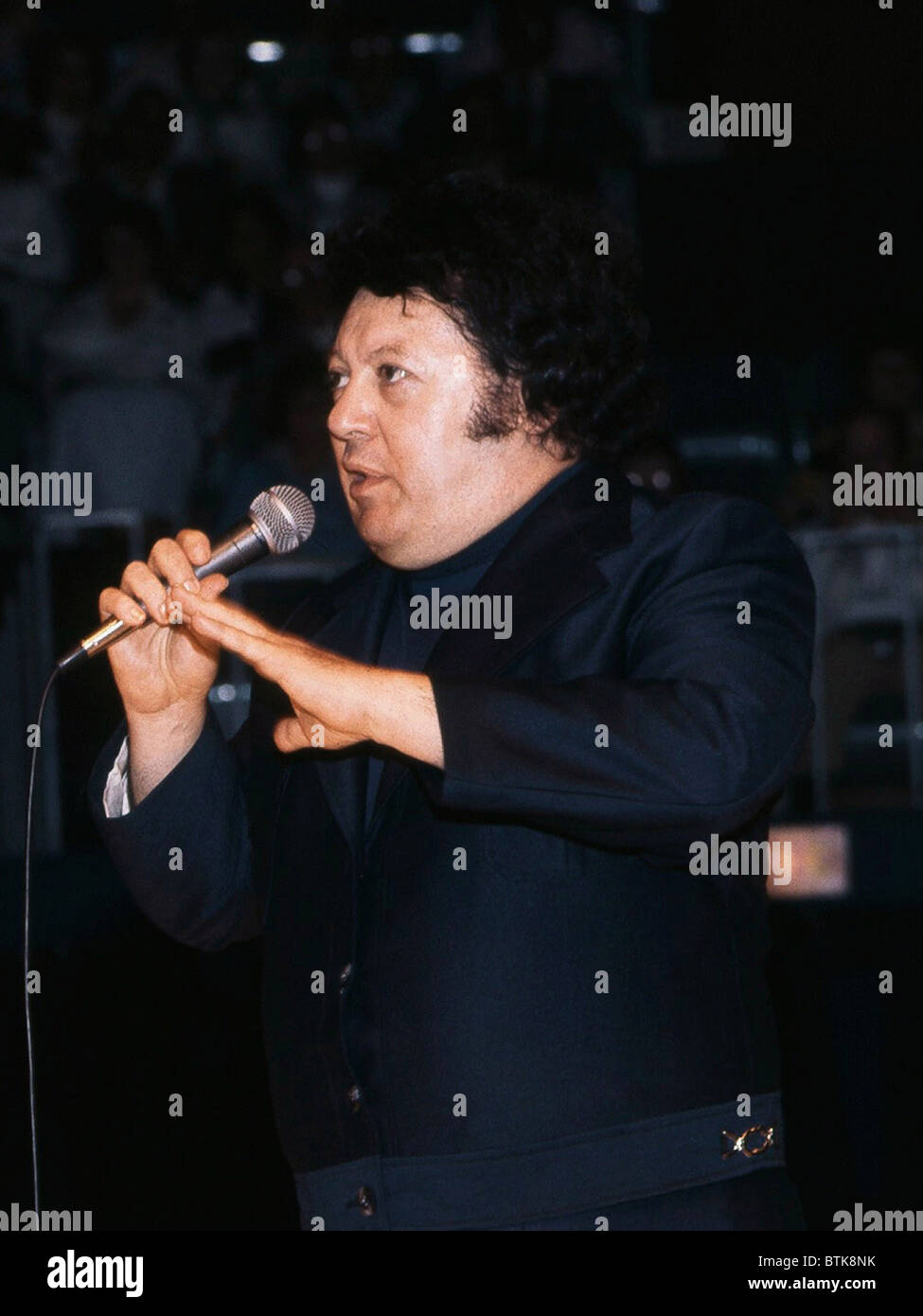 Marty Allen, 1975, Millrun Playhouse Theater in the Round, Niles, Illinois. - Stock Image