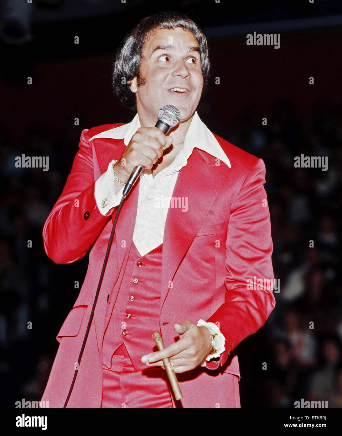 Rich Little, 1975, Millrun Playhouse Theater in the Round, Niles, Illinois. - Stock Image