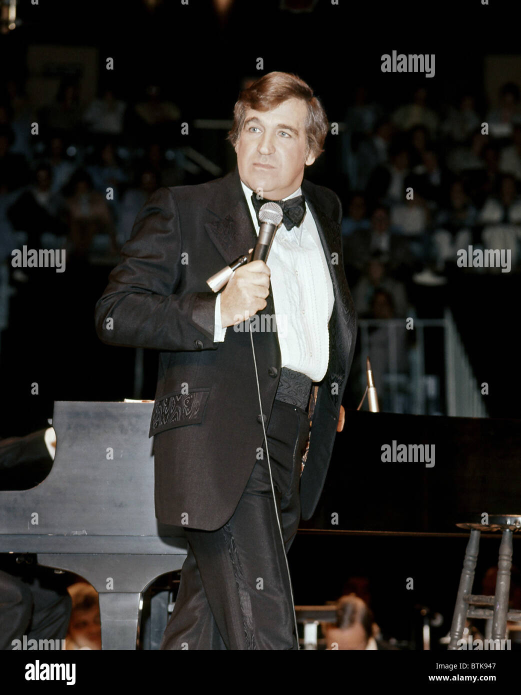 Shecky Greene, 1976, Millrun Playhouse Theater in the Round, Niles, Illinois. - Stock Image