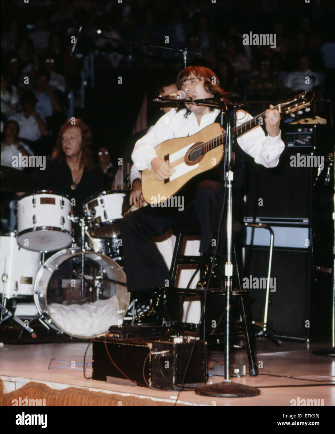 Jose Feliciano, 1980, Millrun Playhouse Theater in the Round, Niles, Illinois. - Stock Image
