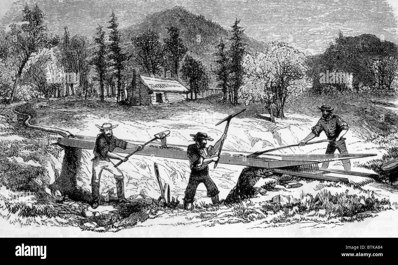 the beginning of the california gold rush Sacramento: history gold rush begins in sacramento  in 1856 sacramento became the terminus of california's first railroad then came the pony express and, in 1861.