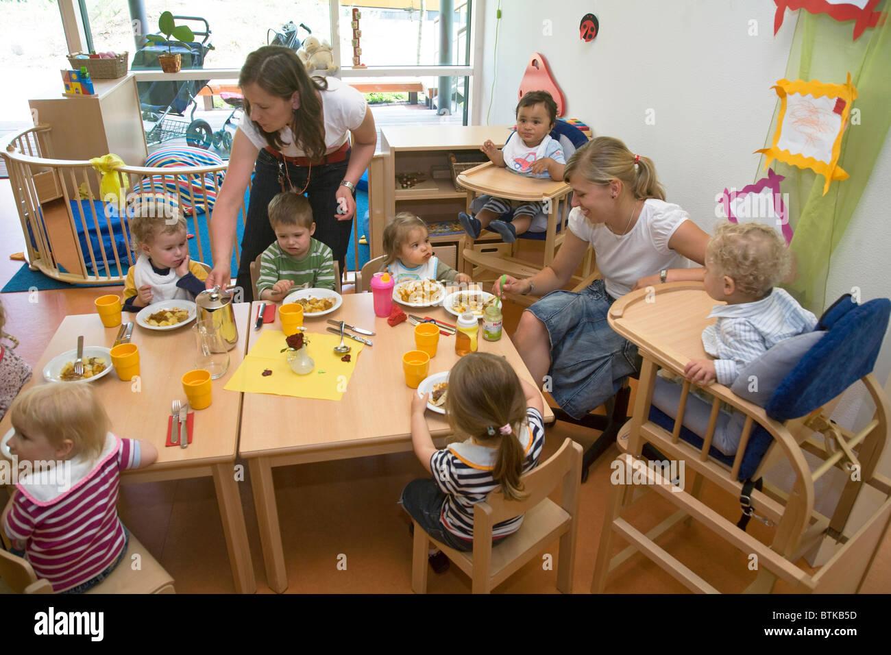 The company kindergarten of Metro, Duesseldorf, Germany
