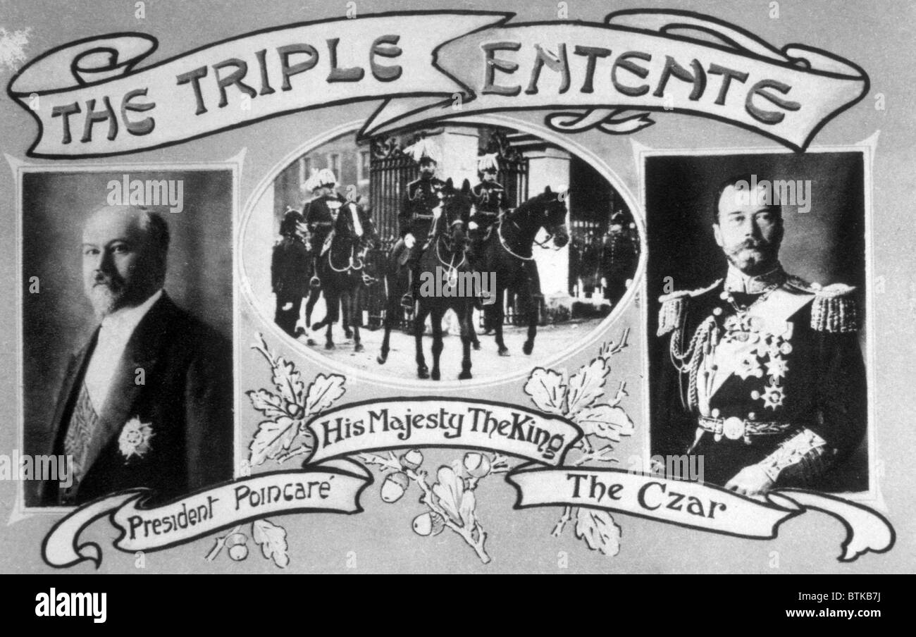 which countries formed the triple alliance in ww1
