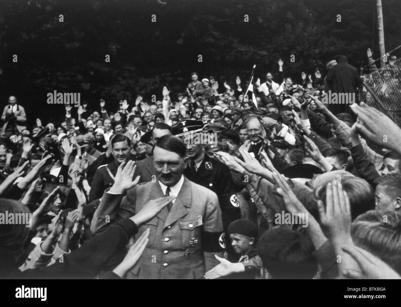 Adolf Hitler at Obersalzberg, ca. 1935 Stock Photo