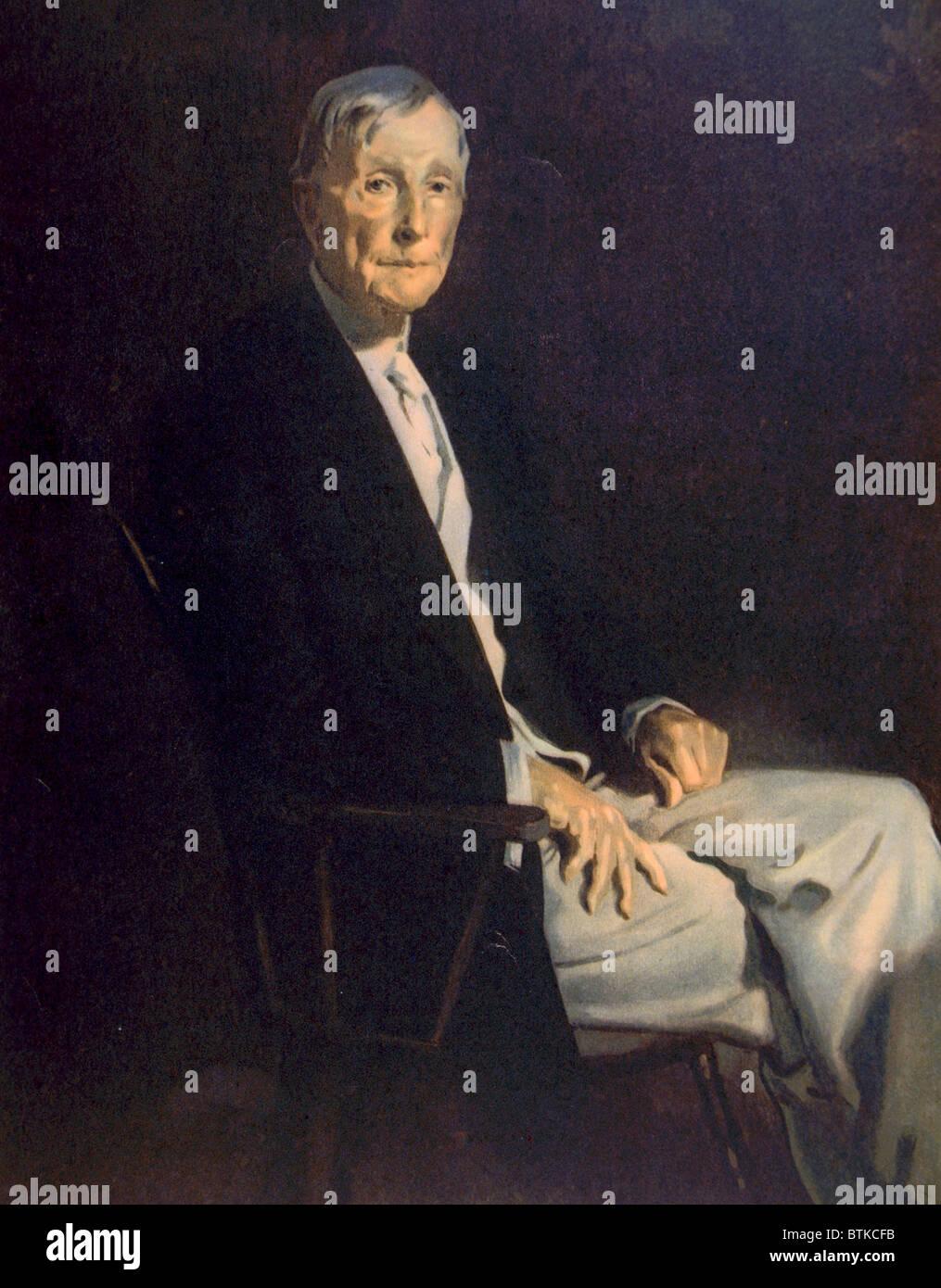 John D. Rockefeller (1839-1937) - Stock Image