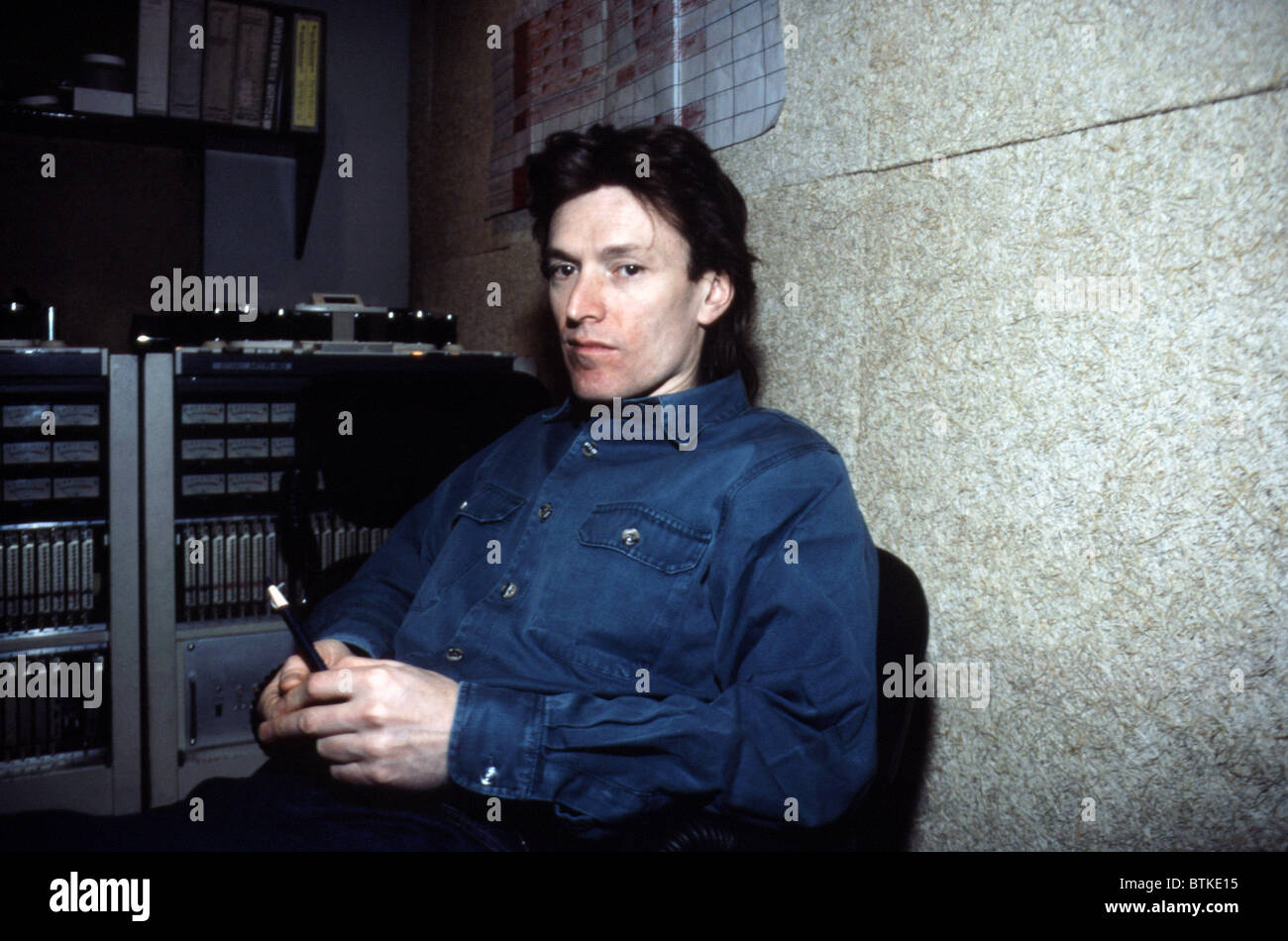 Steve Winwood, March 1986. - Stock Image