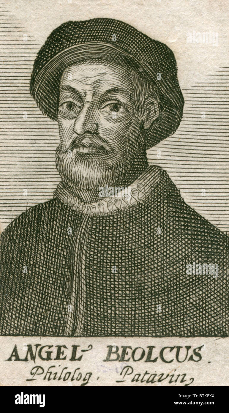 Angelo Beolco (1502-1542), Venetian actor and playwright, also known as 'Il Ruzzante,' after one of his - Stock Image