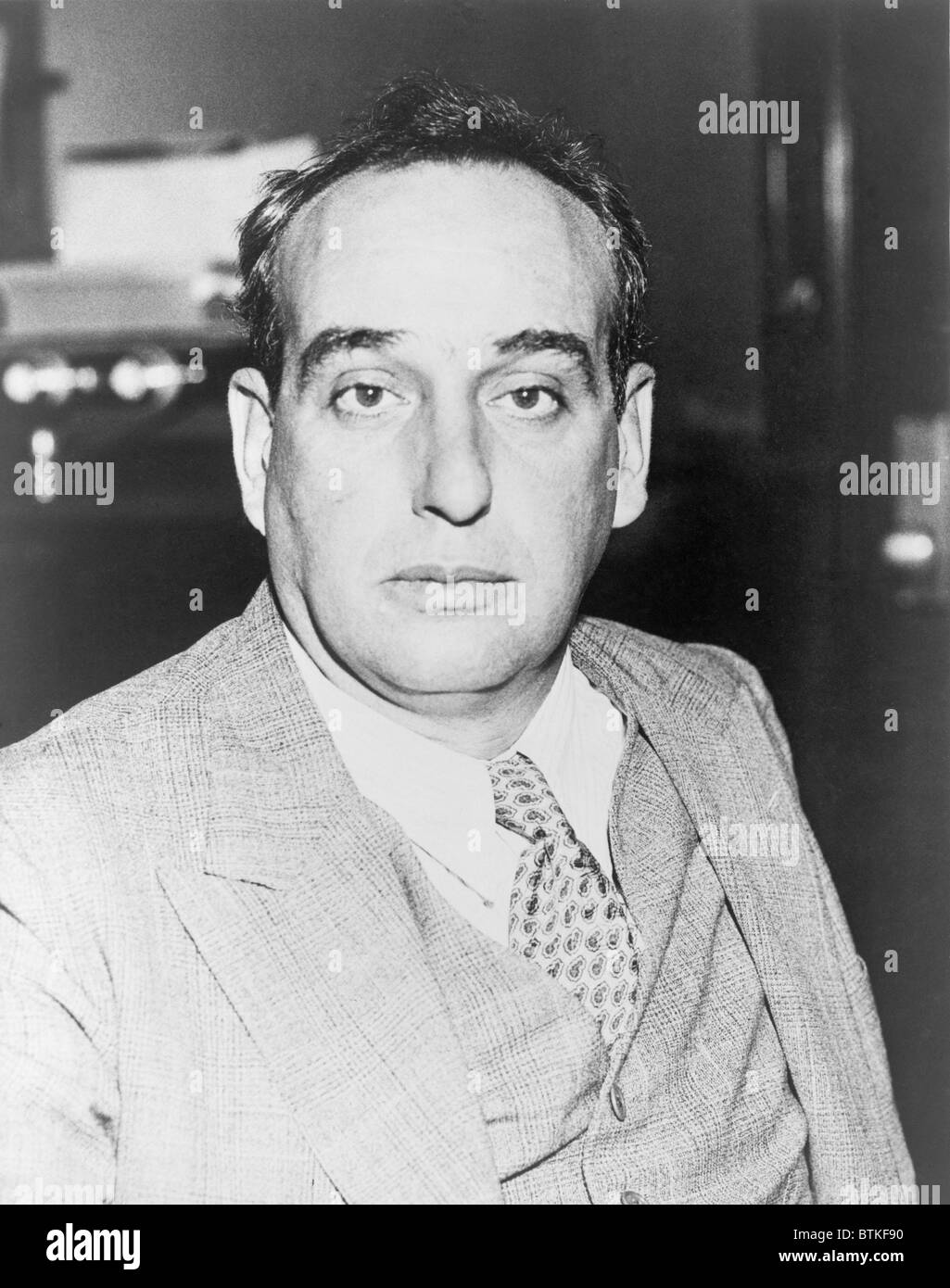 Robert Moses (1888-1981), city planner of New York City from 1933-1959, pursued large scale transformation of the - Stock Image
