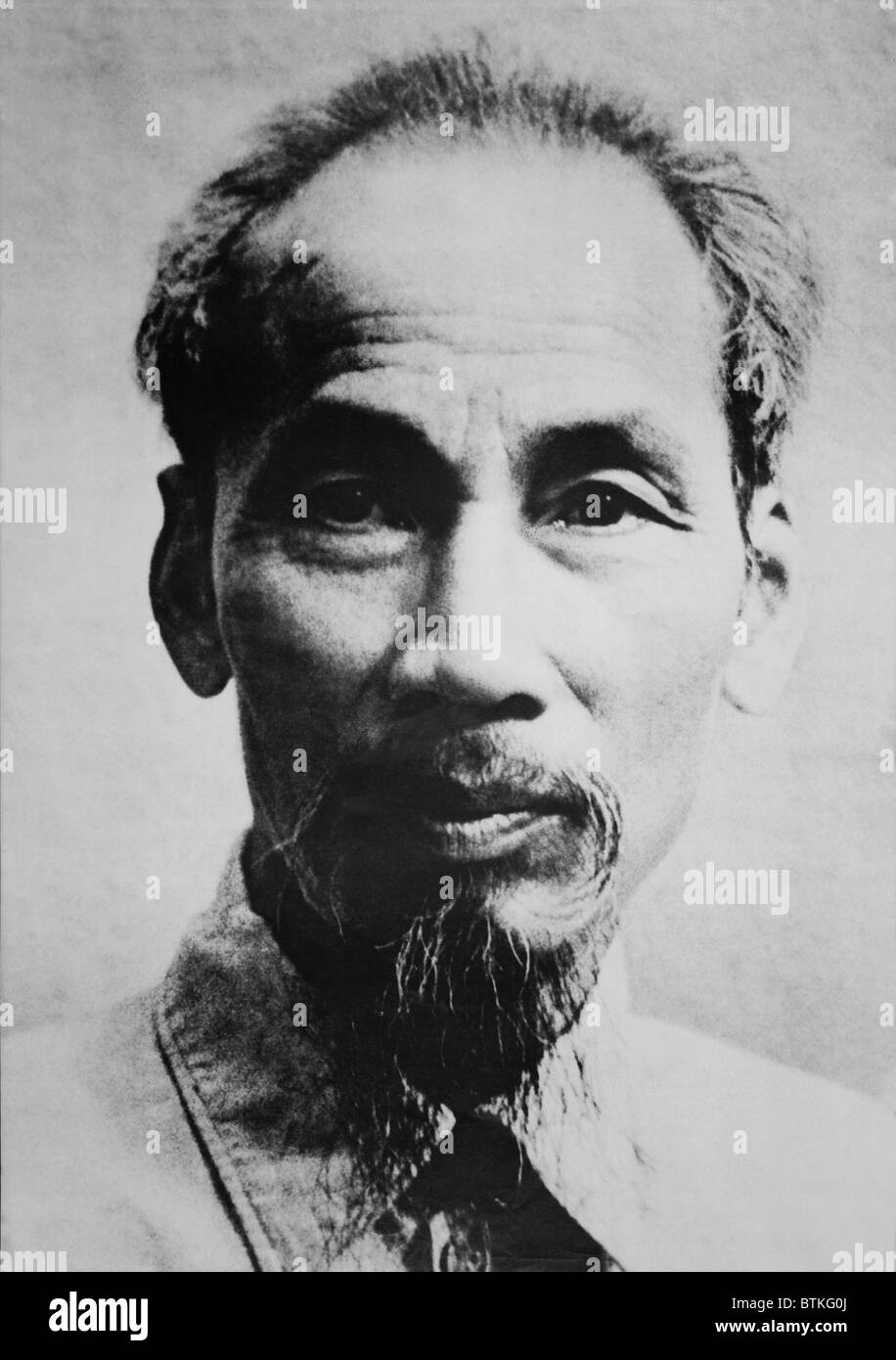 Ho Chi Minh (1890-1969), Vietnamese patriot, communist, and anti-colonialist revolutionary. - Stock Image