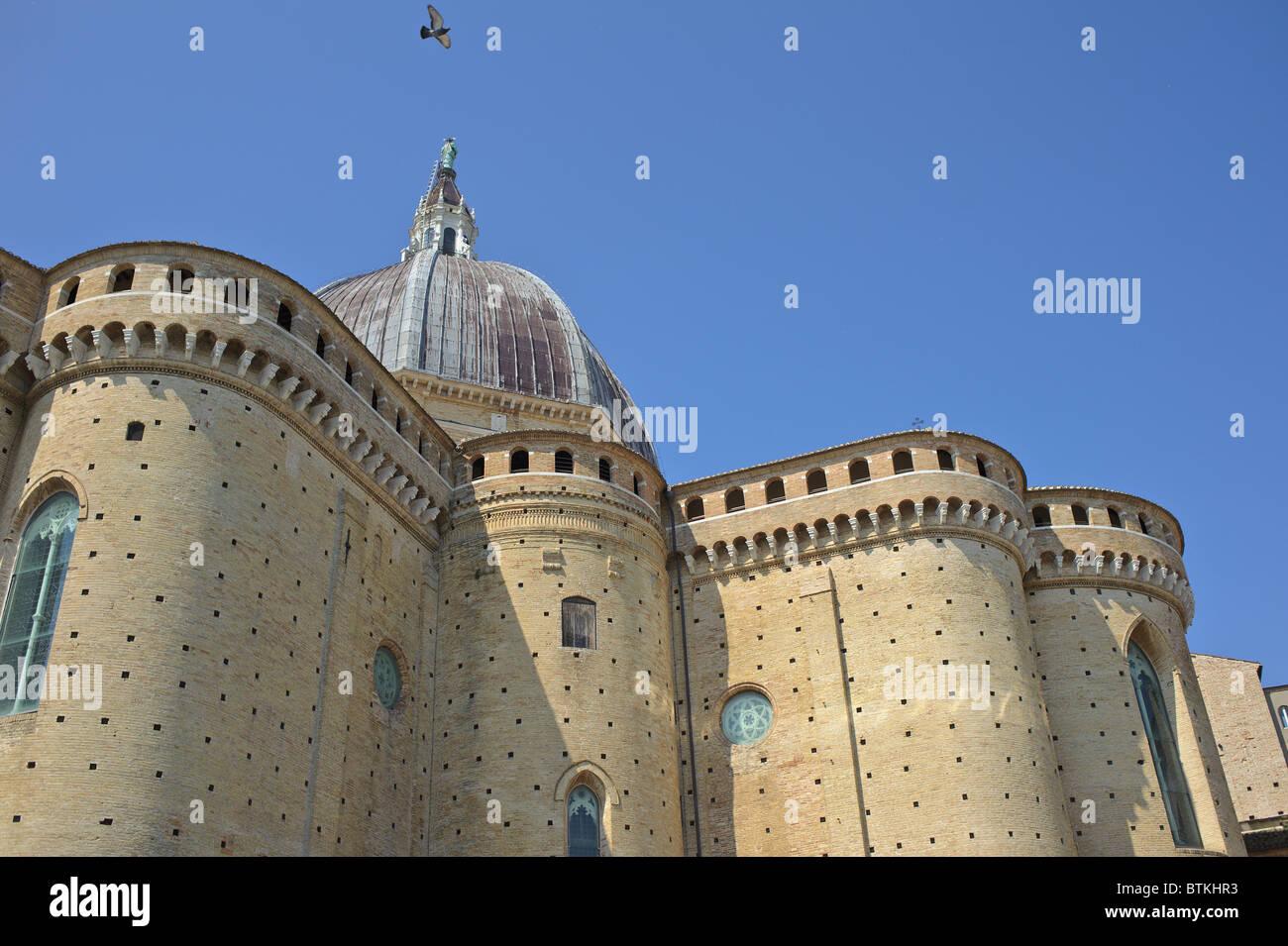 italy loreto shrine pilgrimage - Stock Image