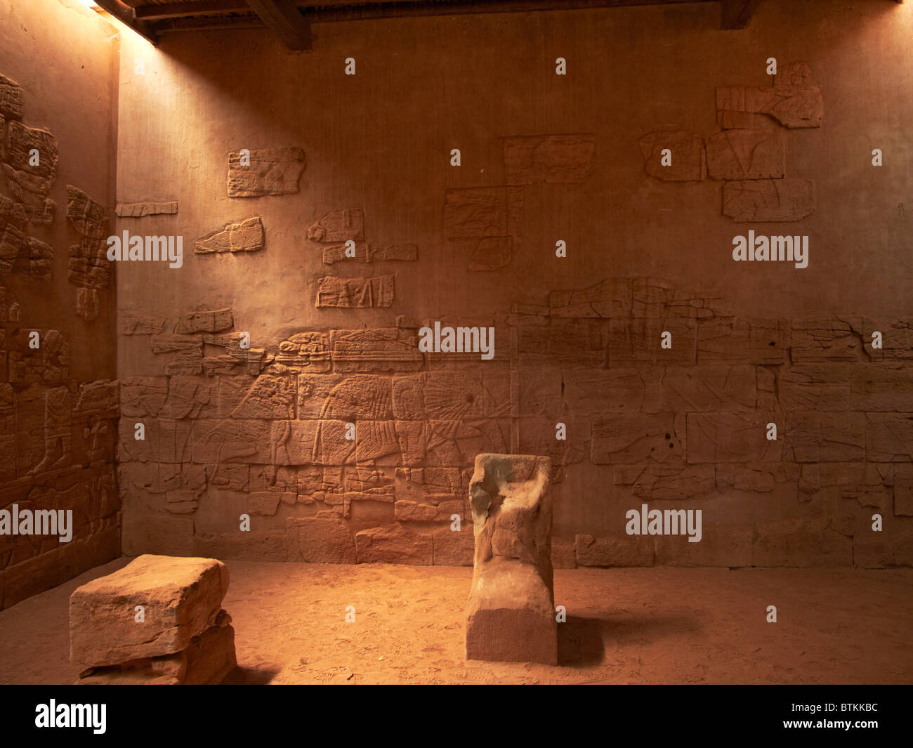 Sudan Musawwarat lion temple - Stock Image