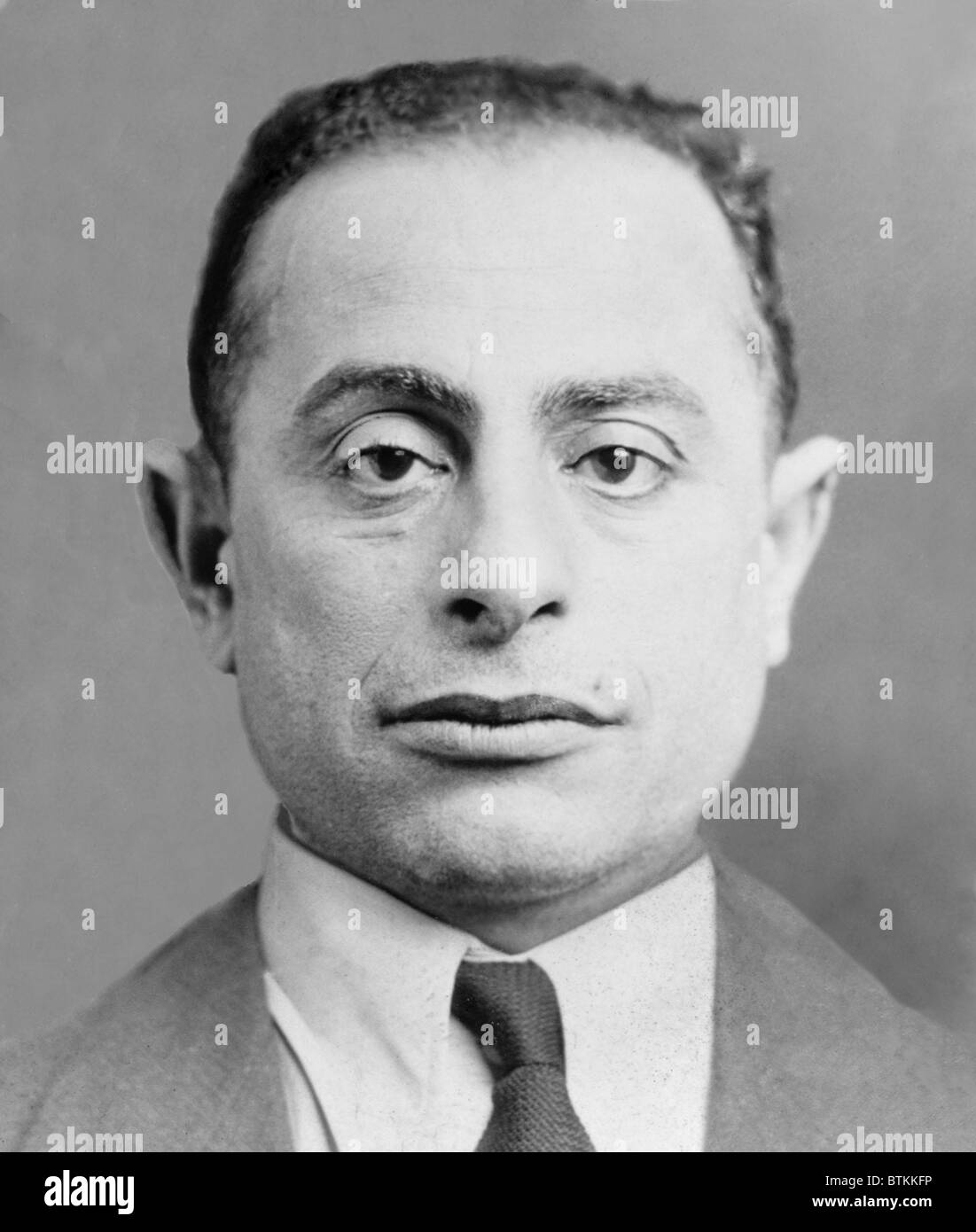 Louis Amburg (1887-1935) was a New York labor racketeer during the 1920s and 1930s. He worked with his brother Joseph, - Stock Image