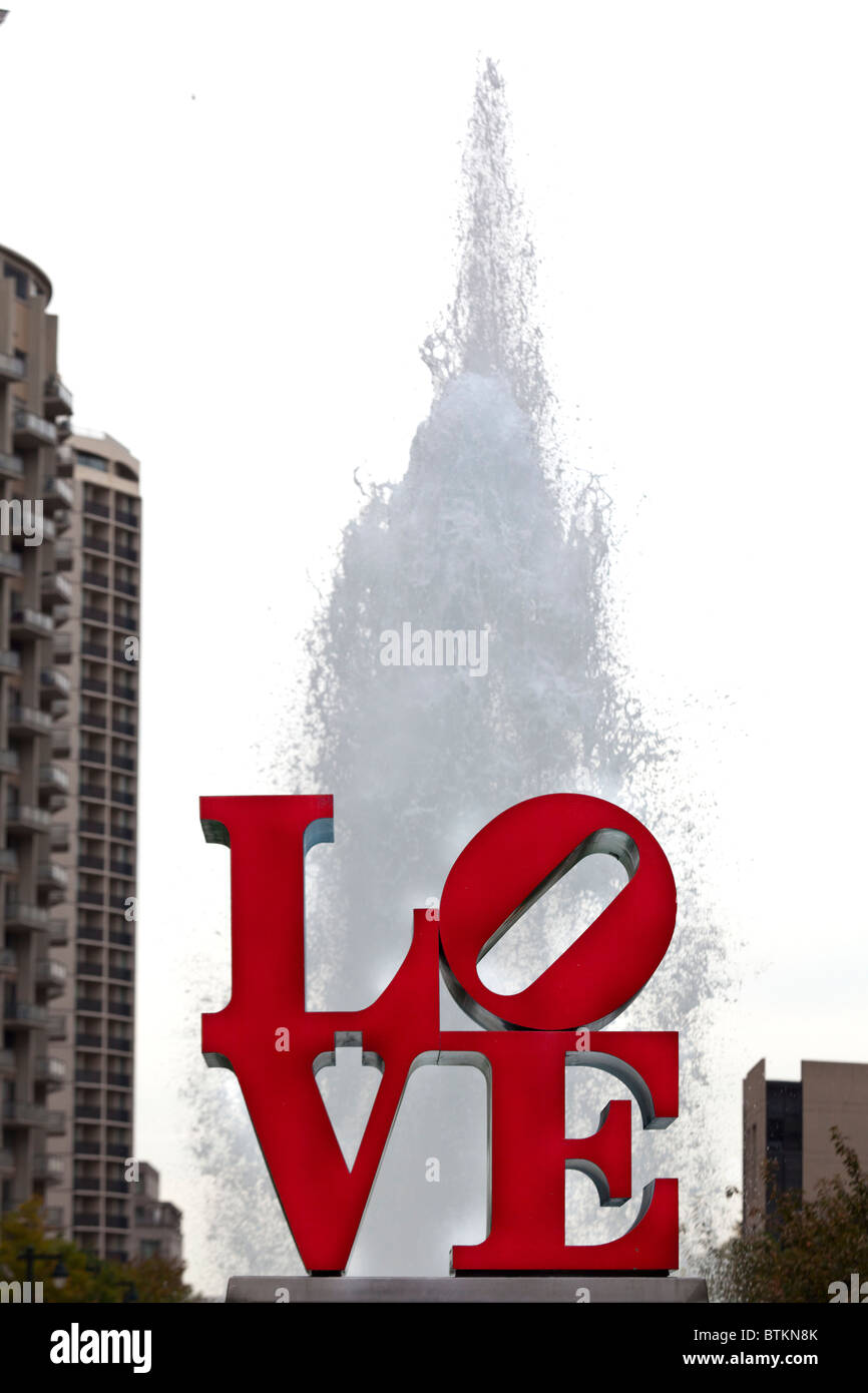 Love Park Philadelphia Stock Photos Love Park Philadelphia Stock