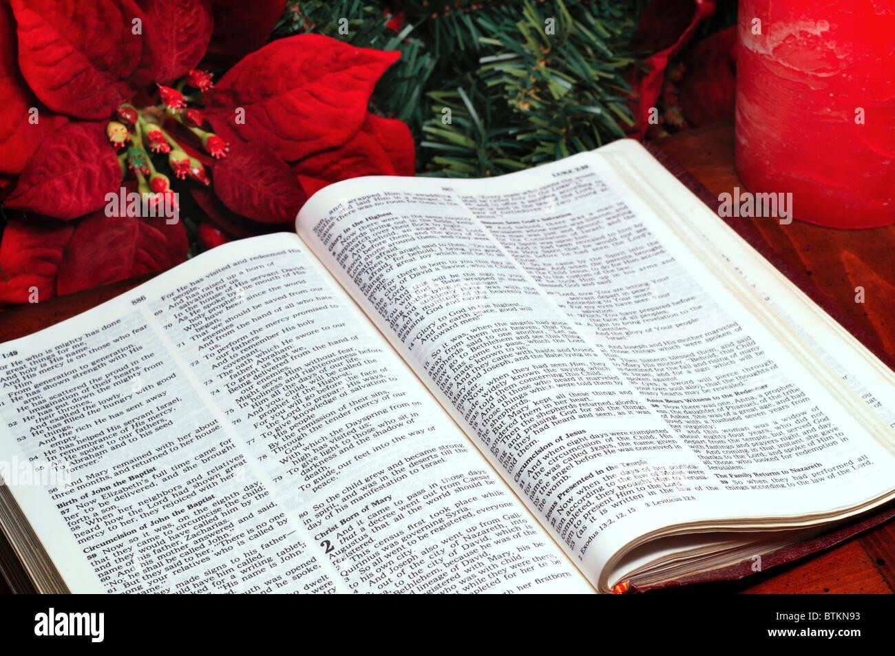 Bible Christmas Story Stock Photos & Bible Christmas Story Stock ...