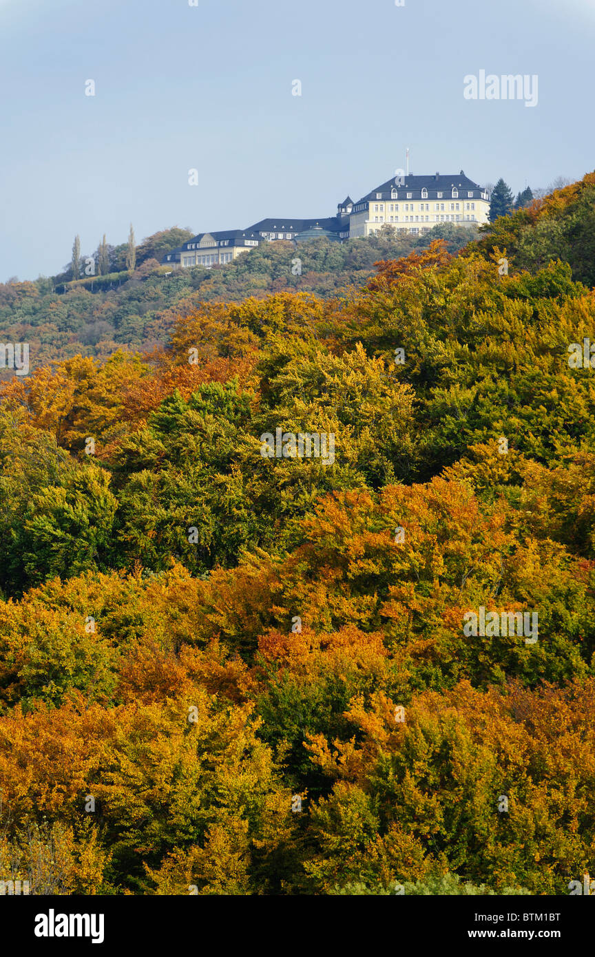 Guest House Petersberg in Autumn - Stock Image