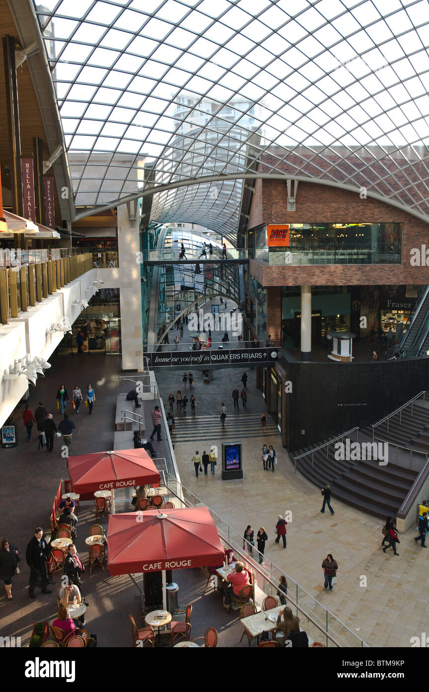 Dh Cabot Circus City Bristol Shoppers Cafe Rouge Cabot