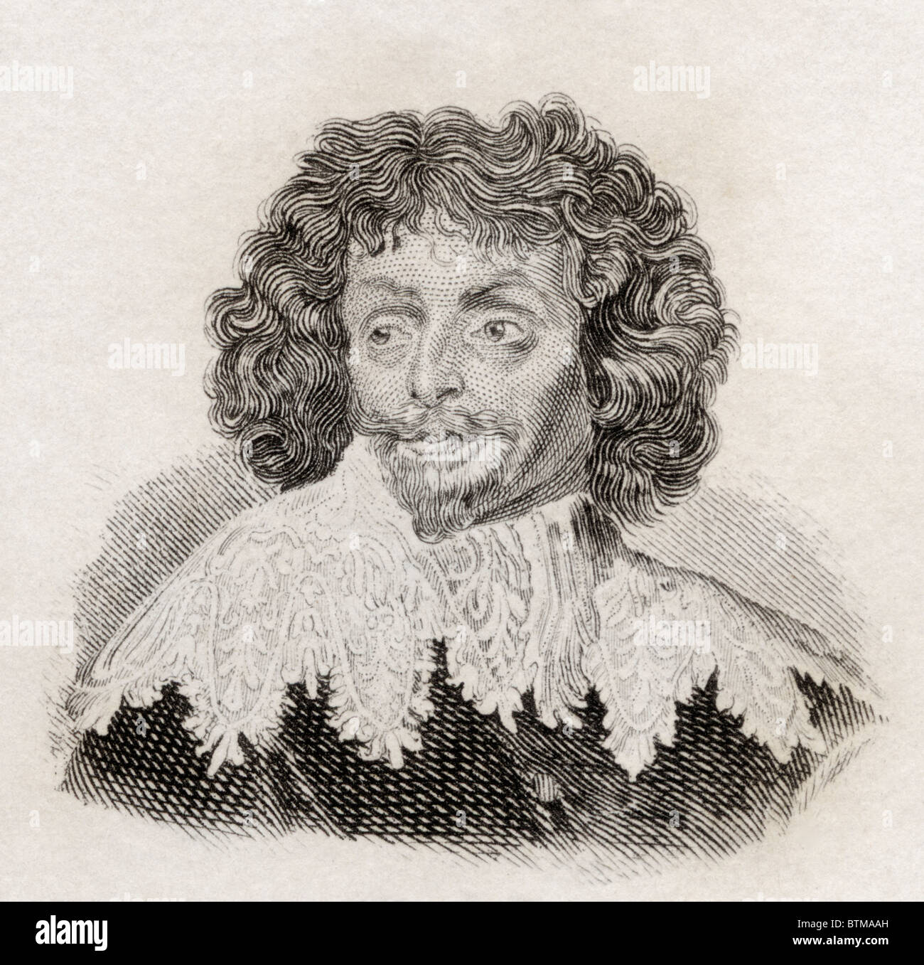 Sir Thomas Chaloner, 1521 to 1565. English statesman and poet. - Stock Image