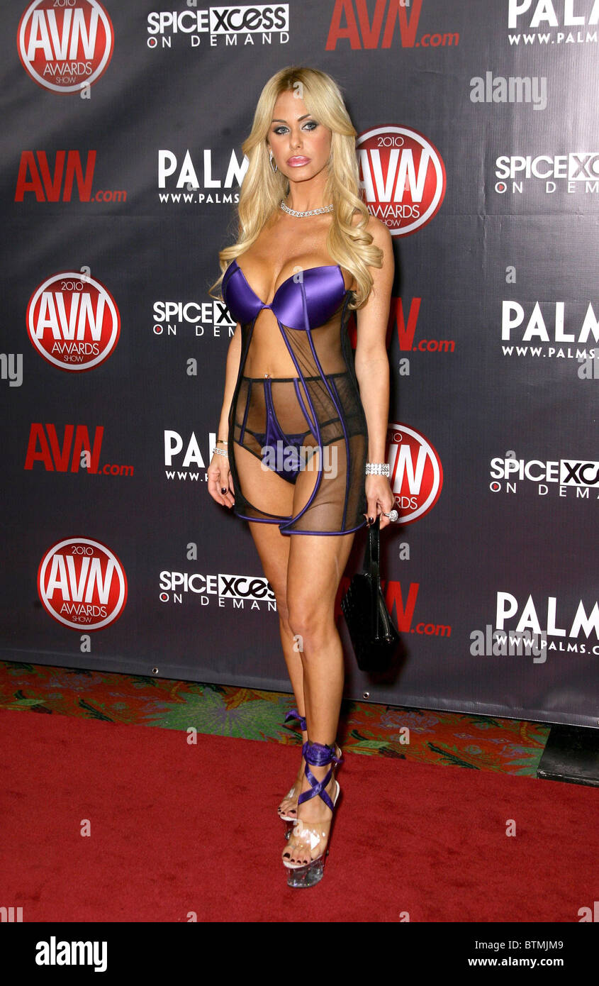 2010 Avn Awards Show Stock Photo 32415833 Alamy