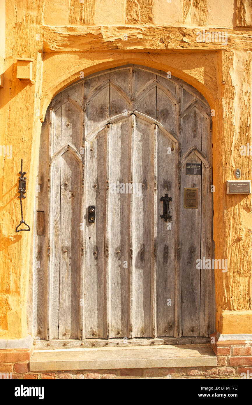 The Little Hall in the Suffolk Village of Lavenham - Stock Image