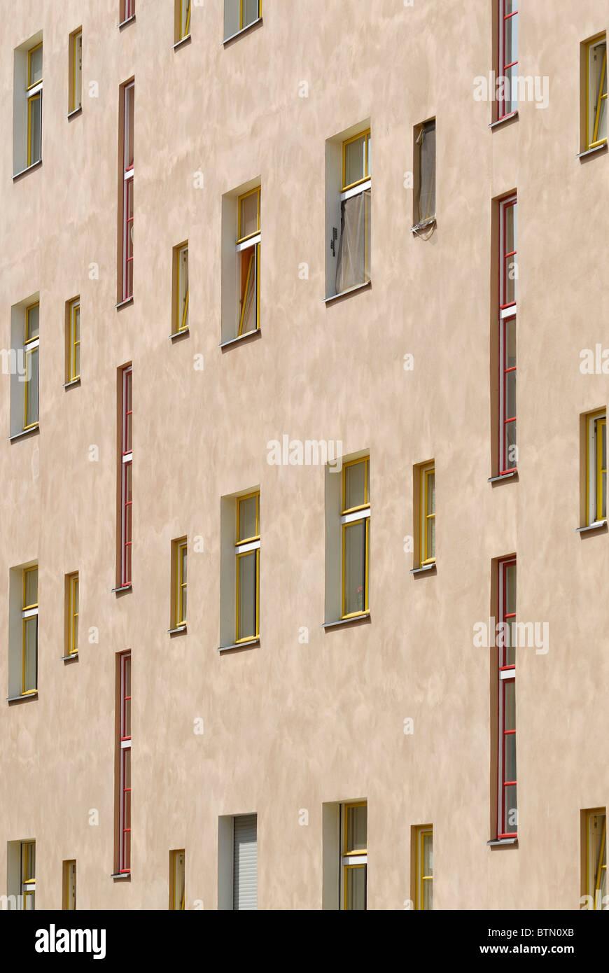 Berlin. Germany. Wohnstadt Carl Legien / Housing estate in Prenzlauer Berg. - Stock Image