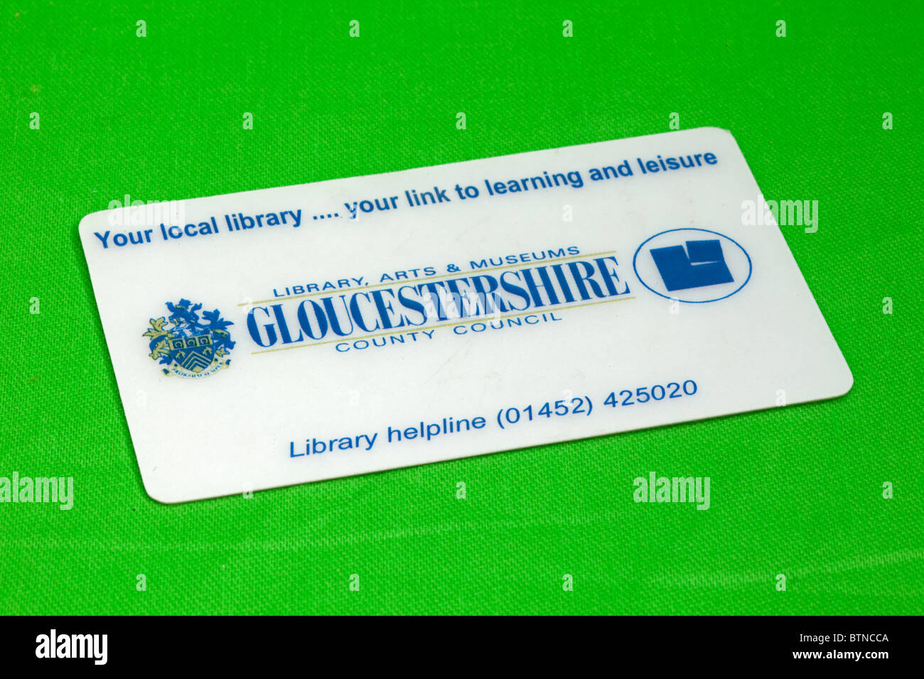Library card gloucestershire county council uk stock photo 32432858 library card gloucestershire county council uk reheart Gallery
