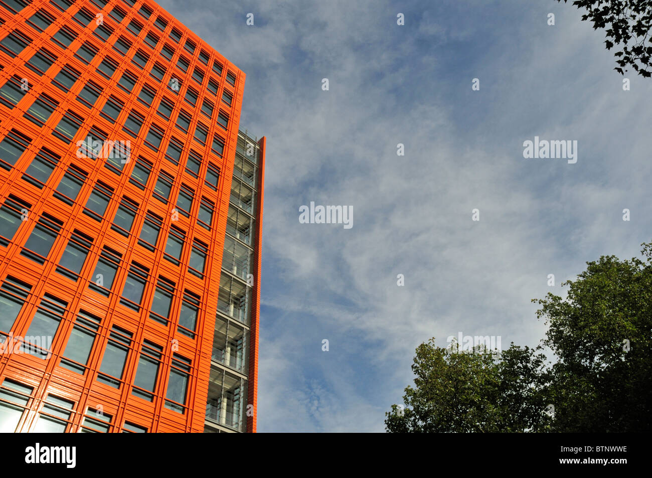 Central St Giles, Saint Giles High Street, High Holborn, London, United Kingdom - Stock Image