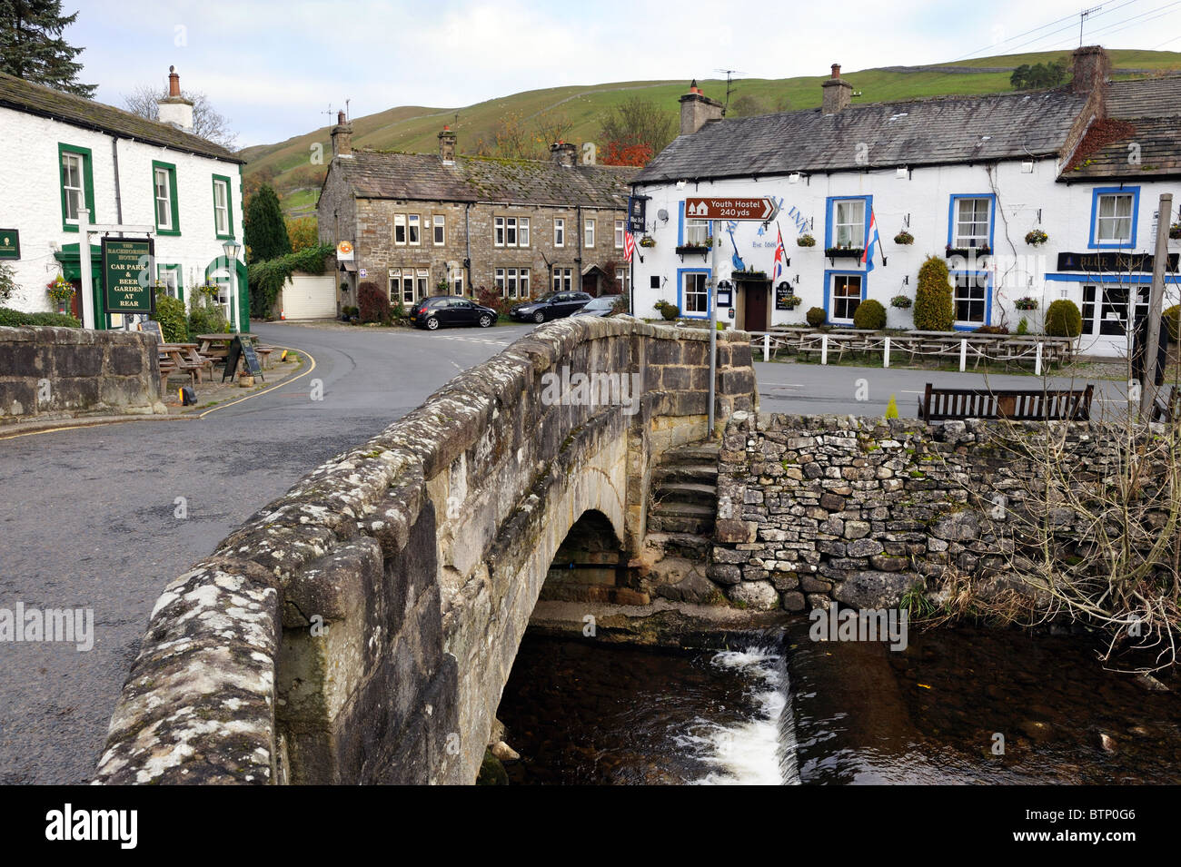 The village of Kettlewell, Wharfedale, Yorkshire Dales National Park, England. - Stock Image