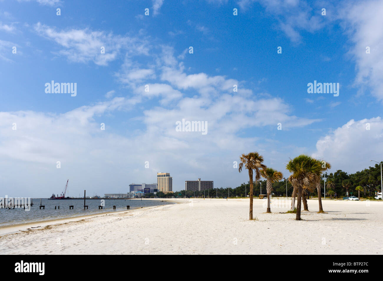 Biloxi Mississippi Beach High Resolution Stock Photography And