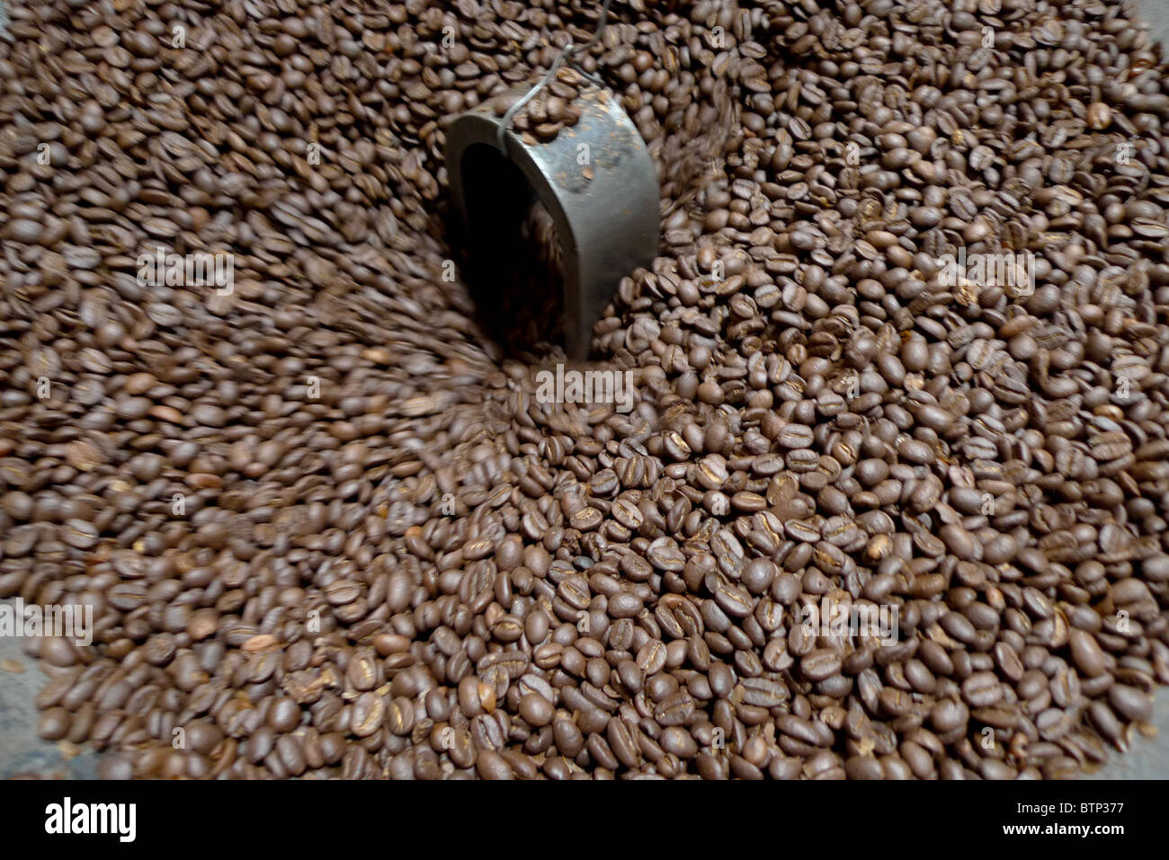 'Aroma Coffee' shop, in Bandung, Western Java province, Indonesia, 29th October 2010. - Stock Image