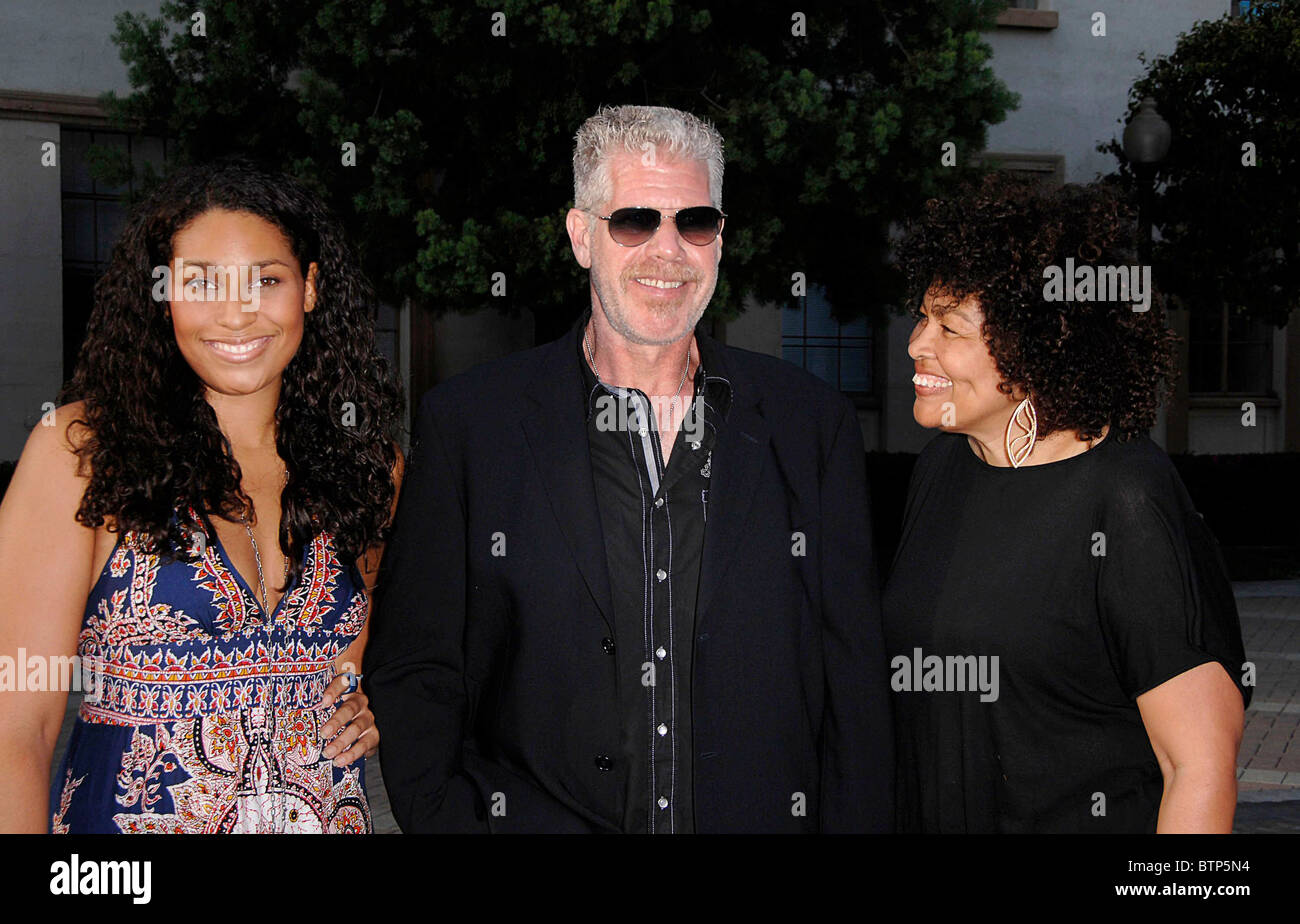 Ron Perlman And Opal Perlman Stock Photos and Images