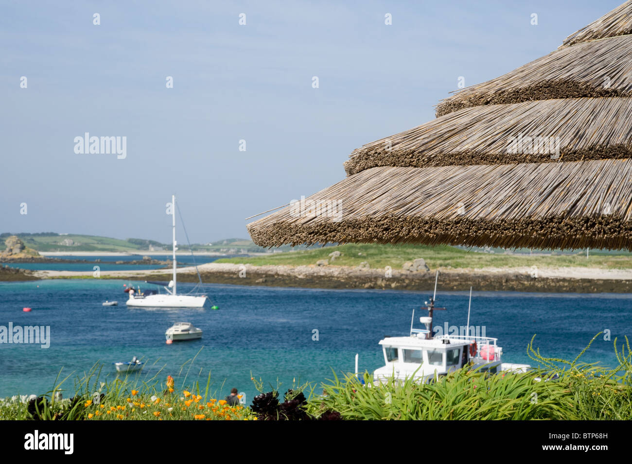 St. Martin's, Isles of Scilly, UK. - Stock Image