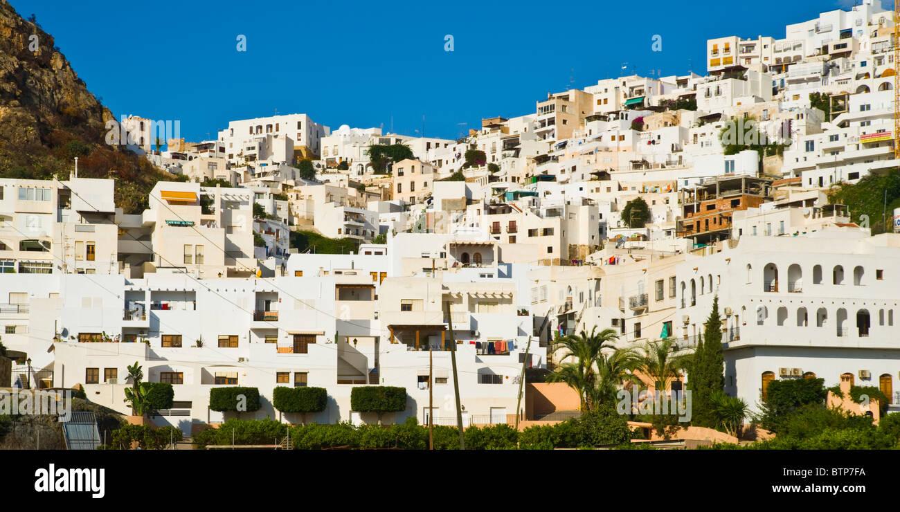 Mojacar Pueblo, Mojacar, Almeria, Costa Blanca, Spain - Stock Image