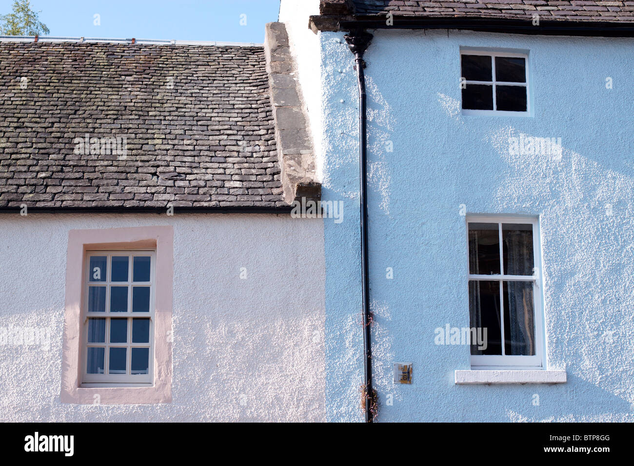 Scotland, Dunkeld, Exterior of a building - Stock Image