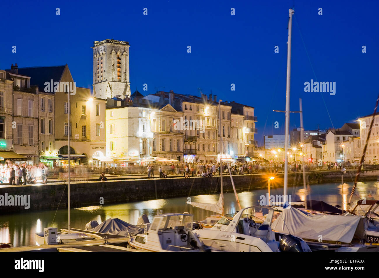 The old harbour; La Rochelle; Charente-Maritime; France - Stock Image
