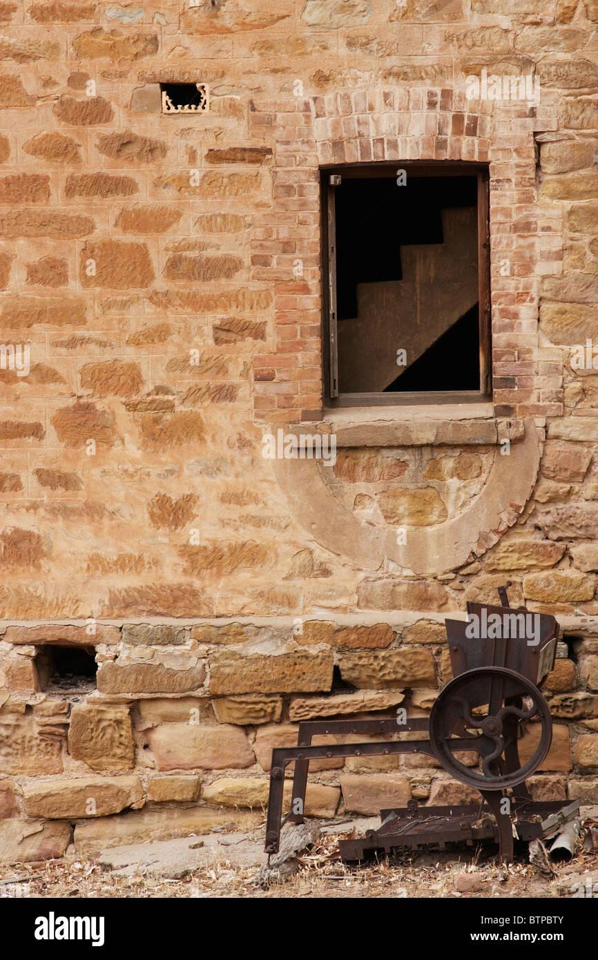 Australia, South Australia, Flinders Ranges, Old brewery - Stock Image