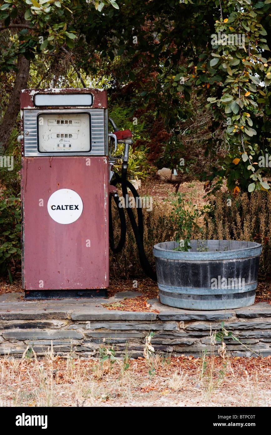 Australia, South Australia, Mintaro, petrol station - Stock Image