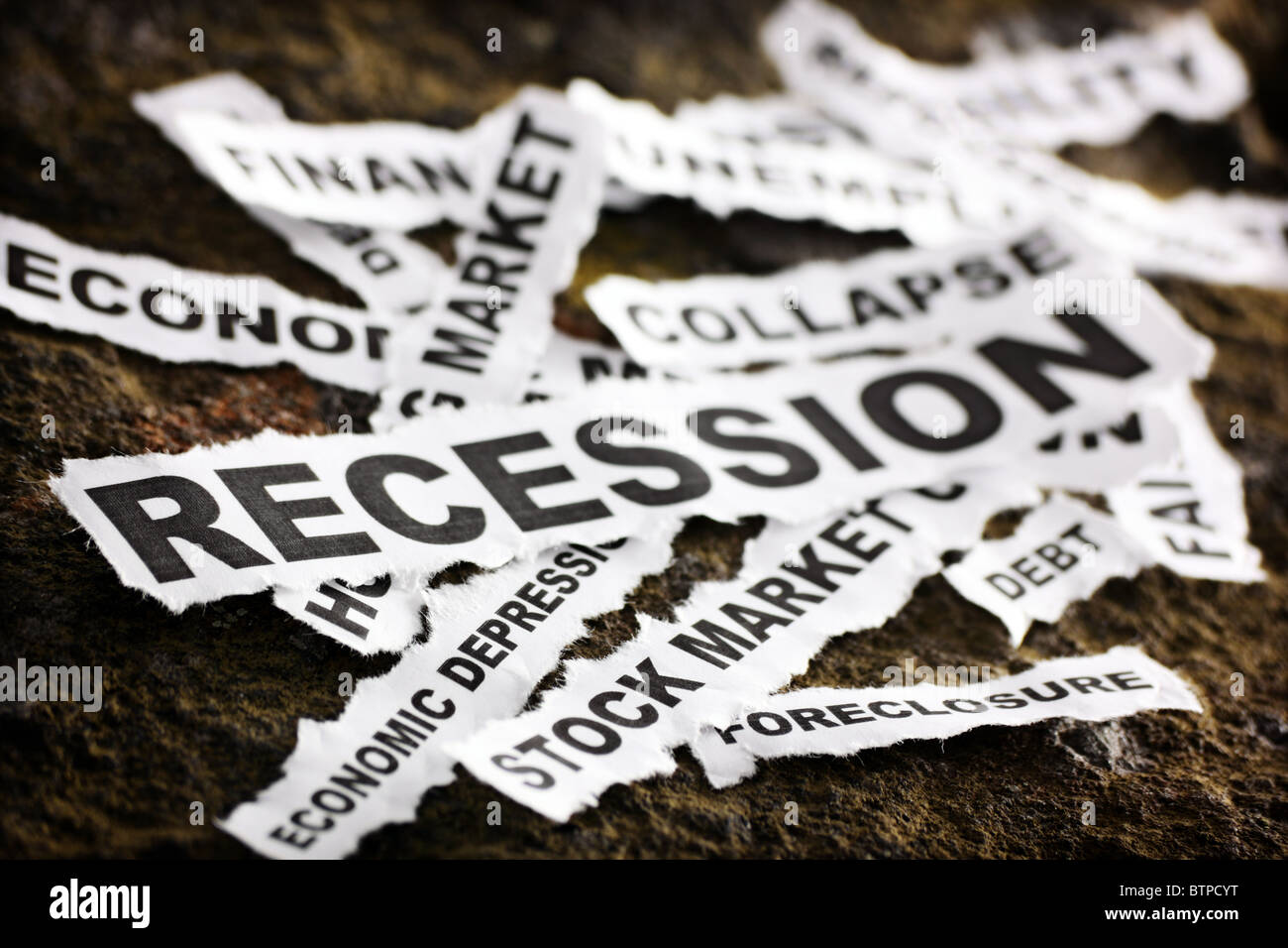 Recession - Stock Image