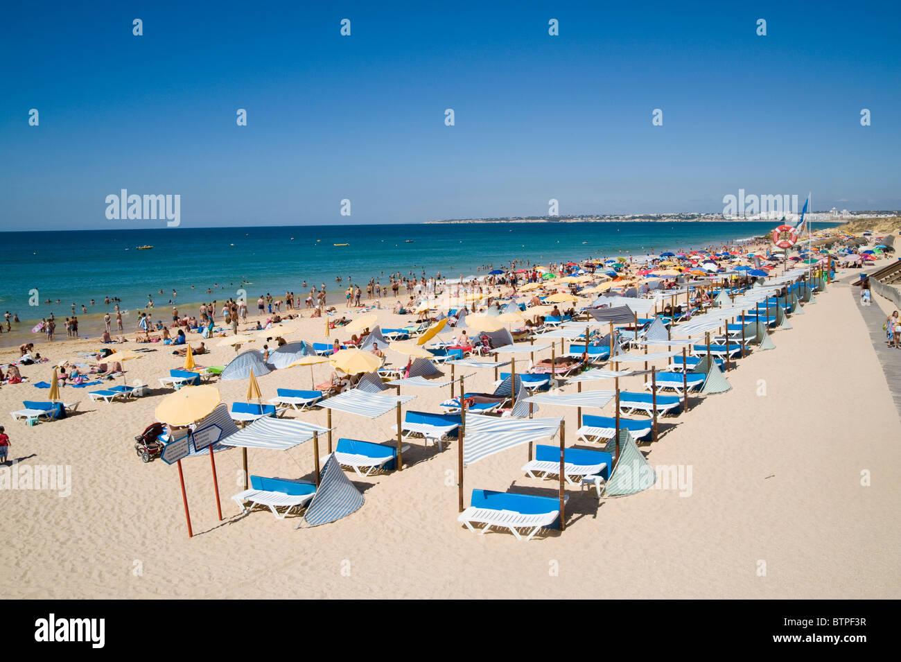 Praia da Gala, Beach, Albuferia, Algarve, Portugal - Stock Image