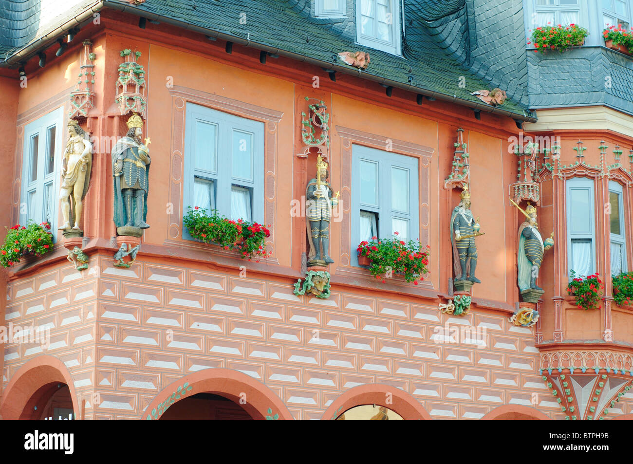 Germany, Goslar, town hall - Stock Image