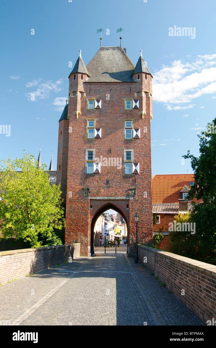 Germany, Xanten, Kleve gate - Stock Image