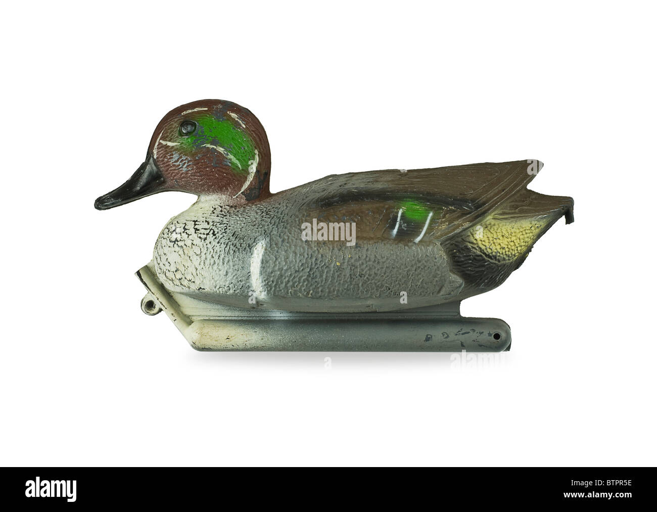 Decoy duck - Stock Image